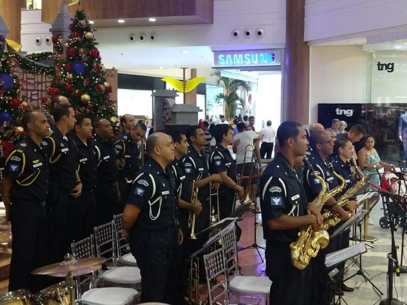 Banda da Guarda Civil tocará clássicos natalinos em diversos pontos da cidade