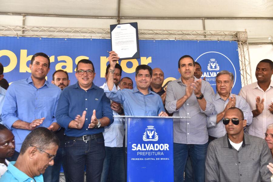 Região de Pau da Lima terá nova via no segundo semestre de 2020