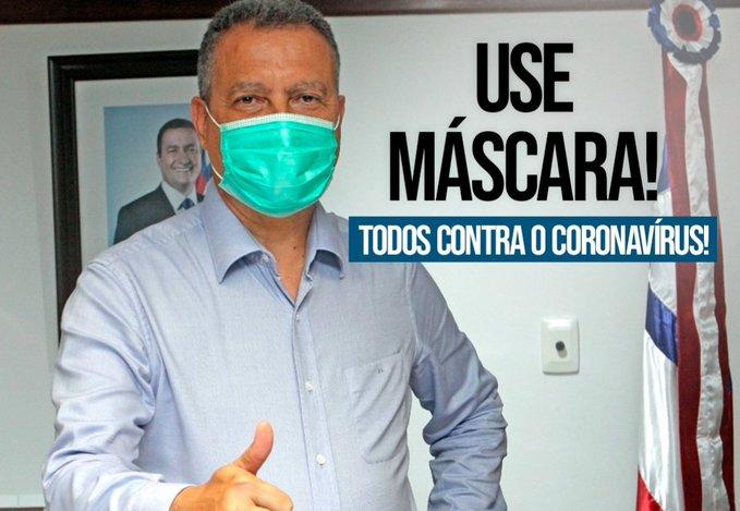 Governador anuncia compra de 10 milhões de máscaras para ...