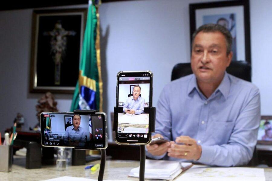 """Não tenho medo de miliciano"""", rebate Governador Rui Costa em live ..."""